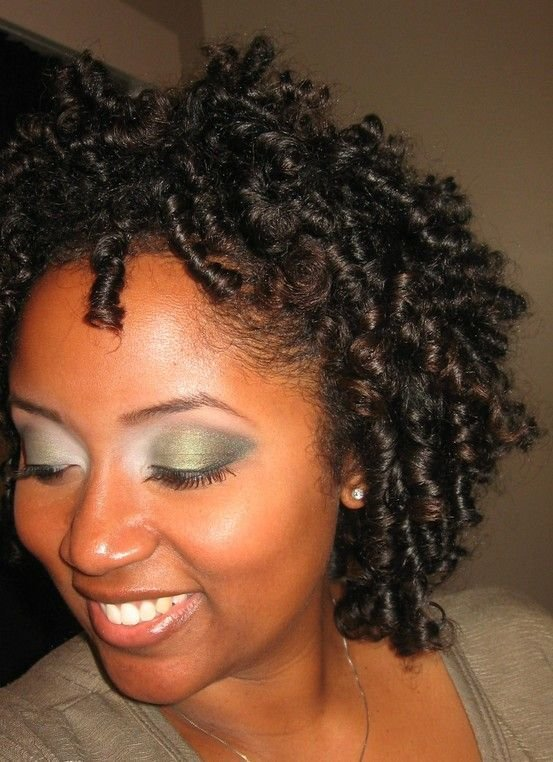 The Best Transitioning Natural Hairstyle Flexi Rod Set Pictures