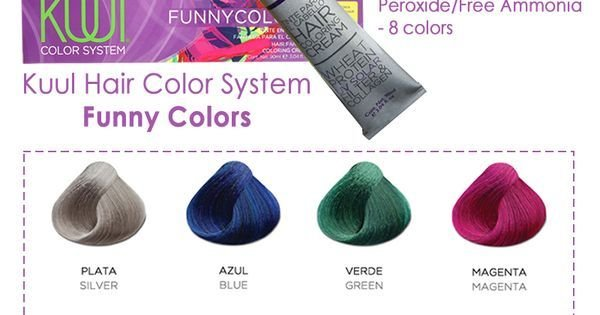 The Best Sale Kuul Hair Color System Funny Colors Apply Pictures