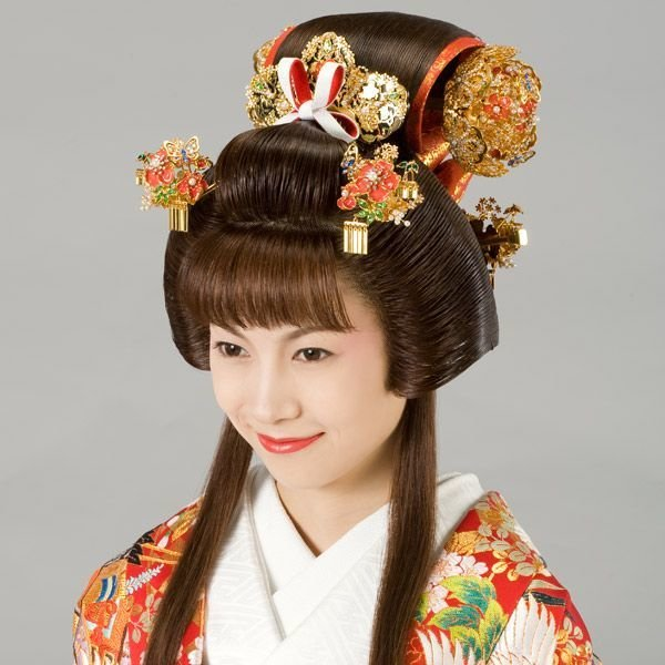 The Best Japan Edo Era Fukiwa Hairstyle Traditional Asian Pictures
