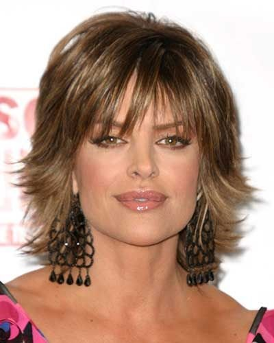 The Best Lisa Rinna Hairstyles Lisa Rinnas Short Sh*G Hairstyle Pictures