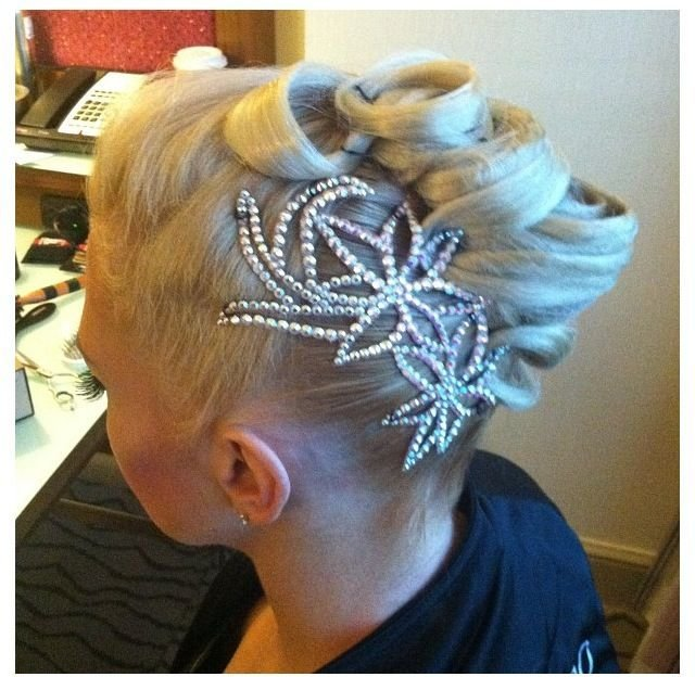 The Best 158 Best Images About Ballroom Hairstyles On Pinterest Pictures