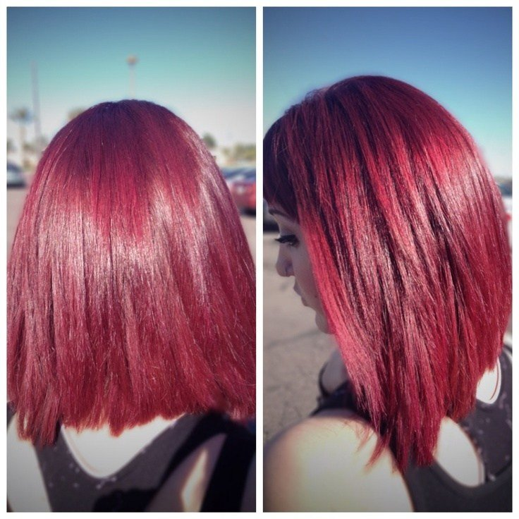 The Best Wild Orchid Pravana Hair Color Hair By Morgan Oreeda At Pictures
