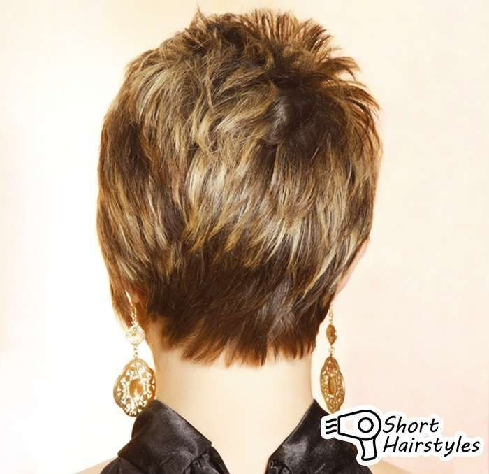 The Best Short Hairstyles Front Back Views Short Hairstyles Pictures