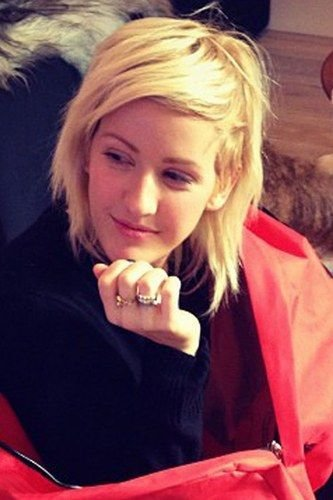 The Best Ellie Goulding Hairstyles Indie Girl Tresses Her Cut Pictures