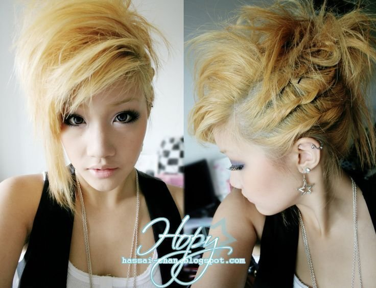 The Best Temporary Blonde Hair Dye My Style Pinterest Gyaru Pictures
