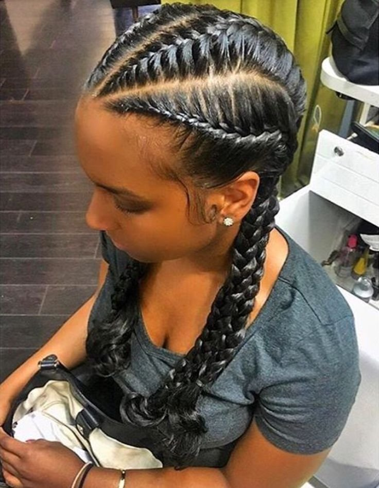 The Best 25 Best Ideas About French Braids Black Hair On Pinterest Pictures