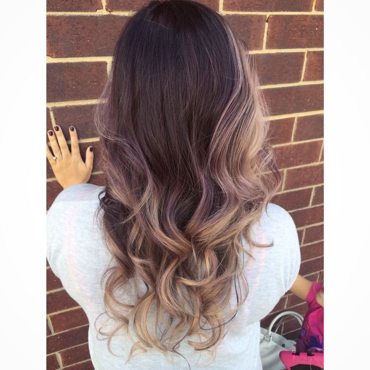 The Best Violet Ombré Done With J Beverly Hills Color Done By Pictures
