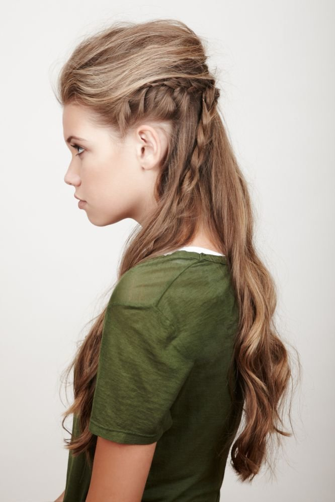 The Best Young Elven Half Up Hairstyle Braid Hairstyles Pictures