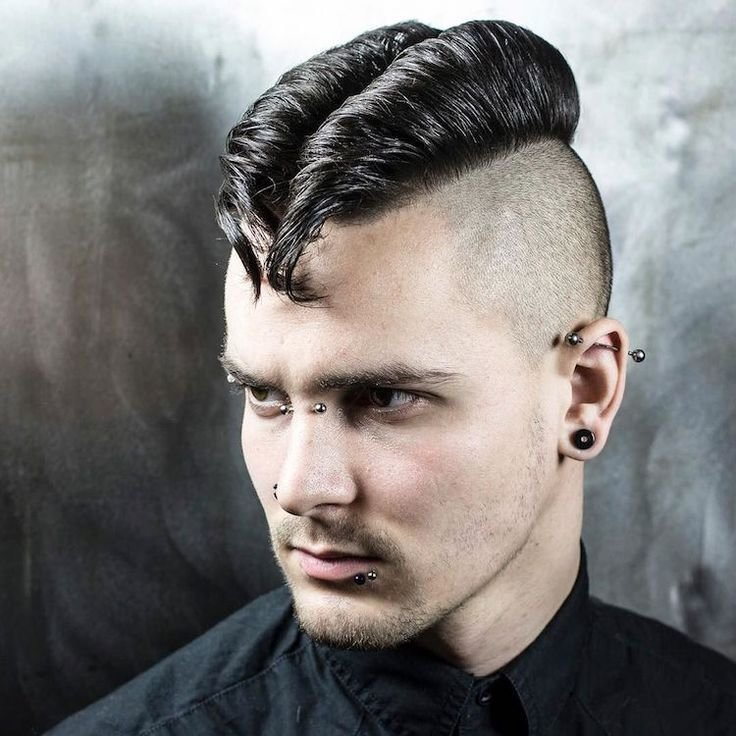 The Best 71 Cool Men S Hairstyles 2017 Rockabilly Boy Haircuts Pictures