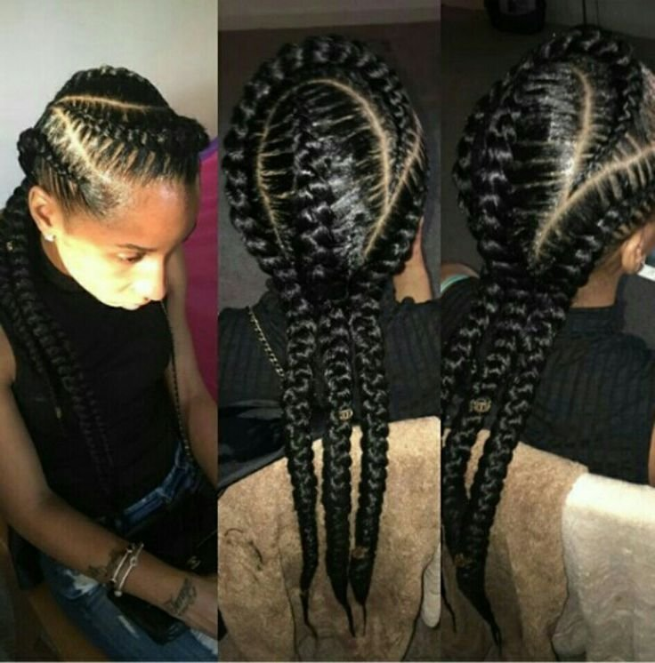 The Best 3 Feed In Cornrows I Like Natural Styles That I D Pictures