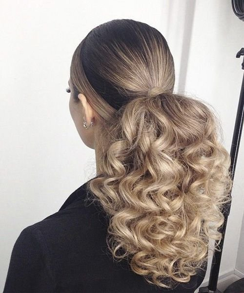 The Best 25 Best Ideas About Curly Ponytail Hairstyles On Pictures