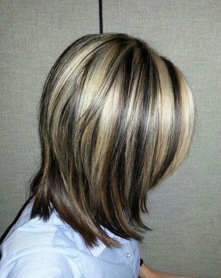 The Best 62 Best Images About Brown Hair With Highlights Streaks On Pictures
