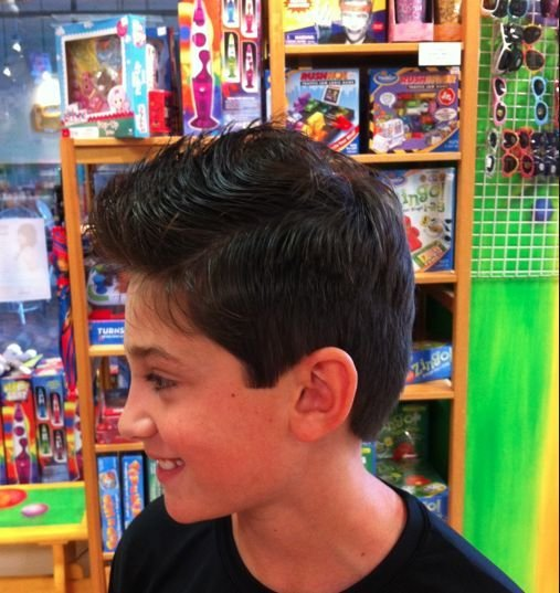 The Best Justin Shark Fin Kidsnips Com Kidsnips Haircuts For Pictures