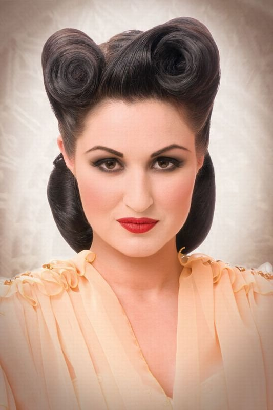 The Best 1000 Images About Rockabilly Hair Pinup Style On Pinterest Pictures