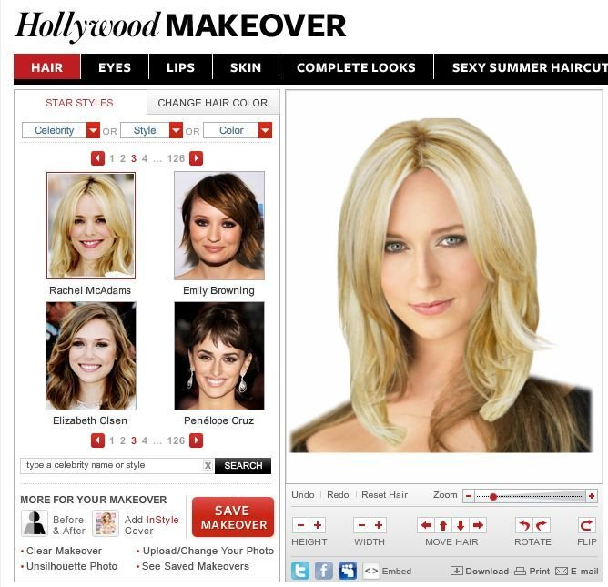 The Best Instyle Hairstyle Try On Find The Best Personal Cut And Pictures