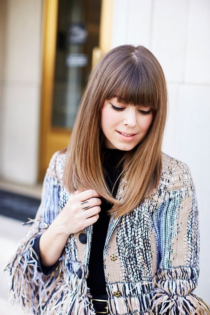 The Best Best 20 Straight Bangs Ideas On Pinterest Short Hair With Bangs Fringe Bangs And Medium Bob Pictures