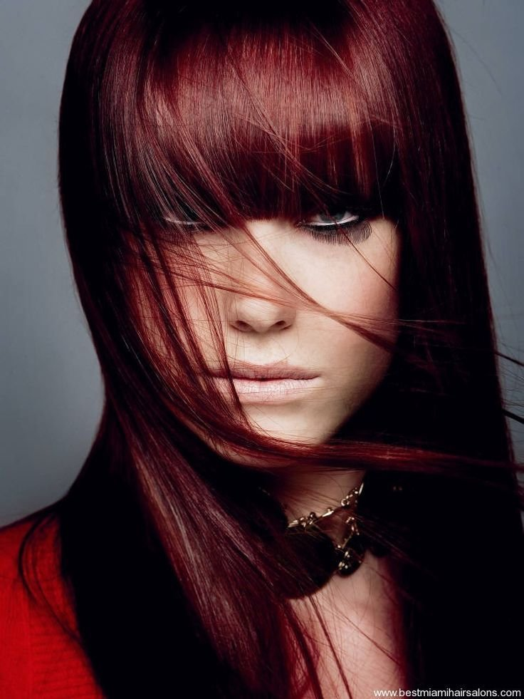The Best Black Hair Dye With Red Tint Dark Hair Colors Cute Pictures