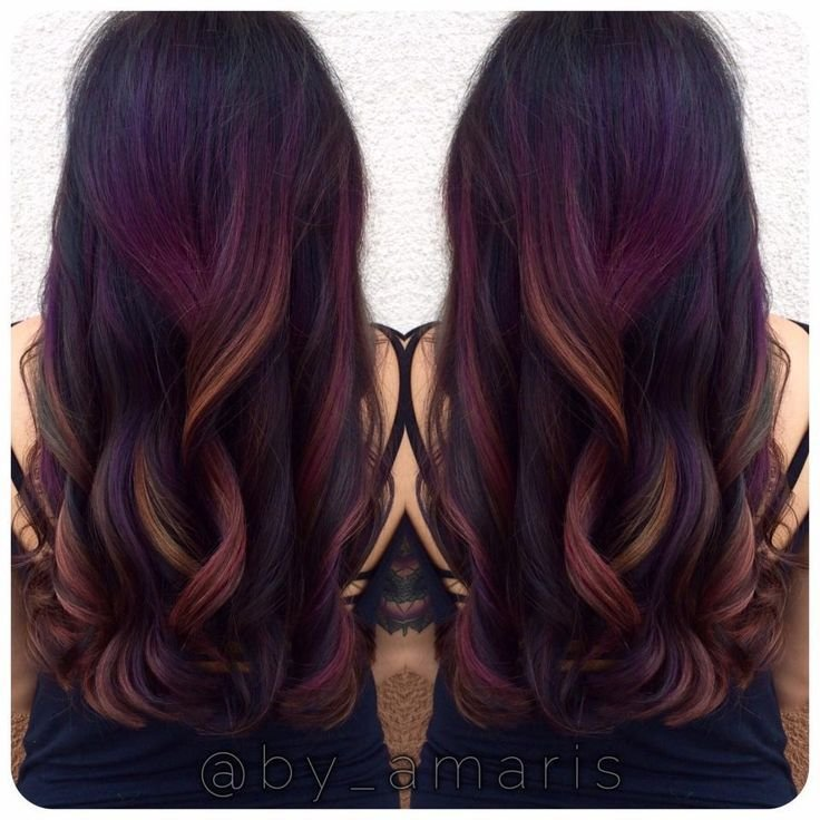 The Best Best 25 Rainbow Hair Highlights Ideas On Pinterest Pictures