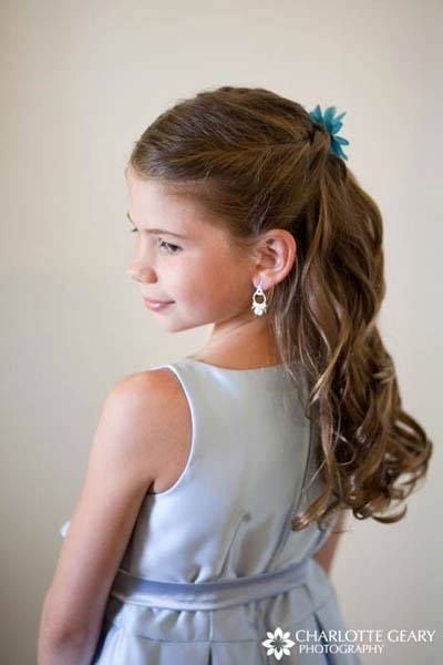 The Best 1000 Ideas About Kids Wedding Hairstyles On Pinterest Pictures