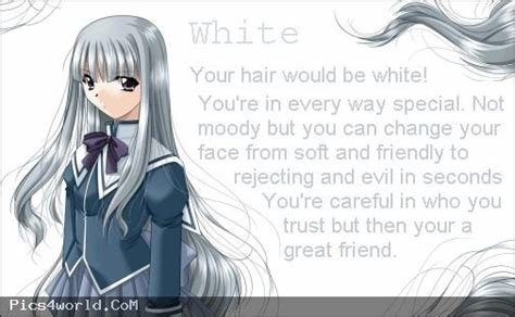 The Best White Anime Hair Color Meaning Anime Fun Pinterest Pictures