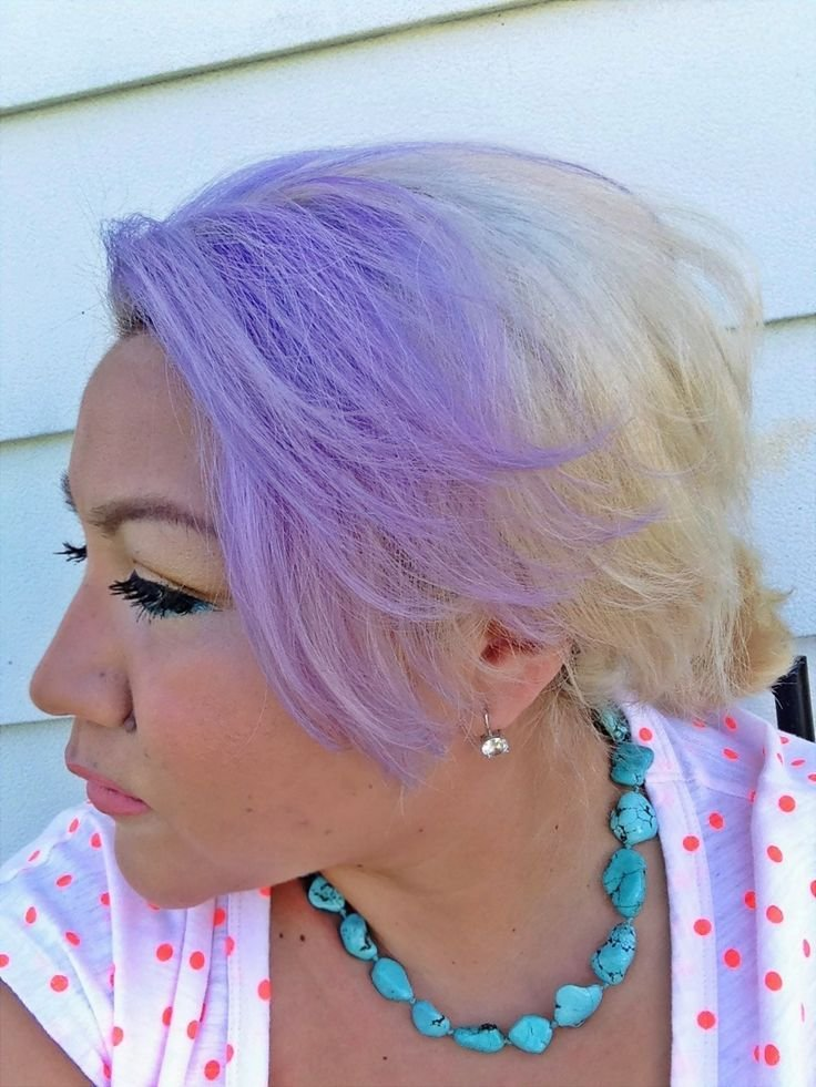 The Best Purple Hair Lavender Hair Using Sally S Ion Color Pictures