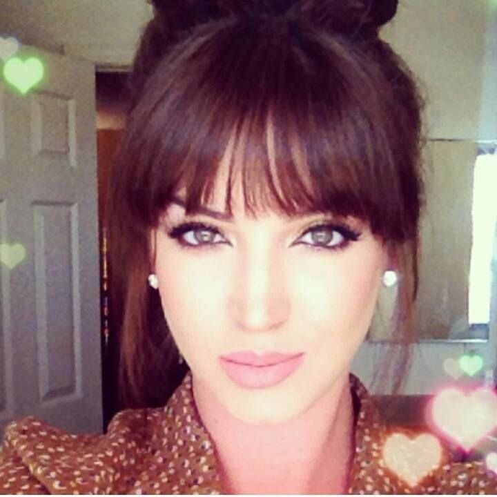 The Best 17 Best Ideas About Front Bangs Hairstyles On Pinterest Pictures