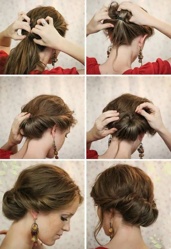 The Best 11 Easy Hairstyles Step By Step Hairstyles For All Pictures