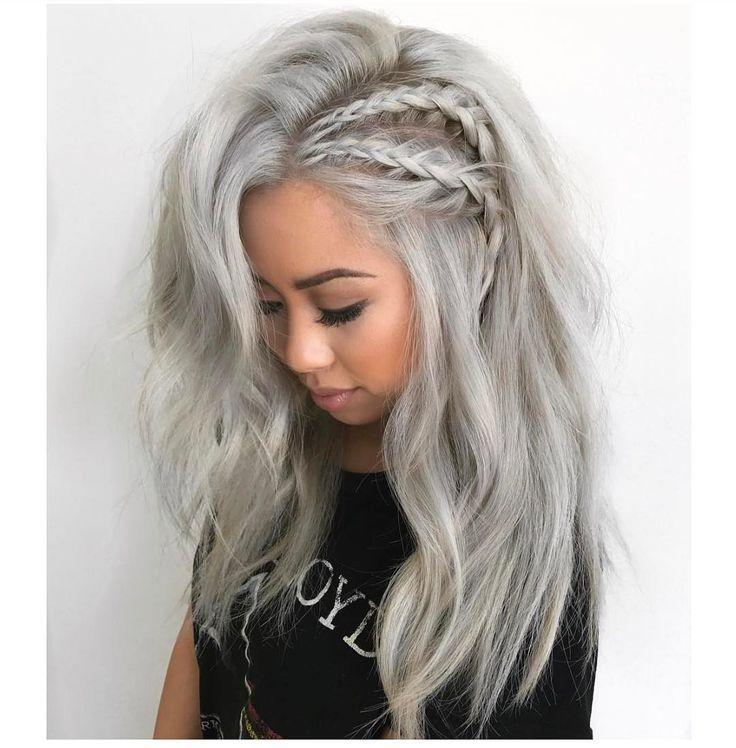 The Best Best 25 Ash Blonde Ideas On Pinterest Grey Blonde Hair Pictures