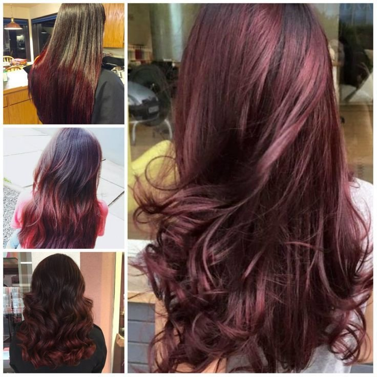 The Best 17 Best Ideas About Black Cherry Hair On Pinterest Black Pictures