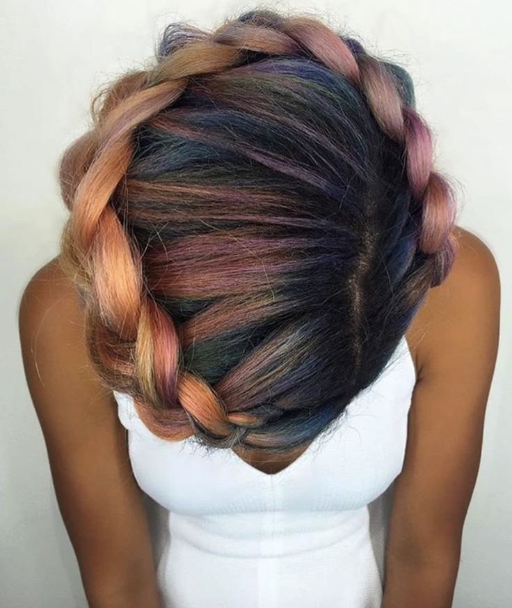 The Best Colorful Crown Via Shelleygregoryhair Http Community Pictures