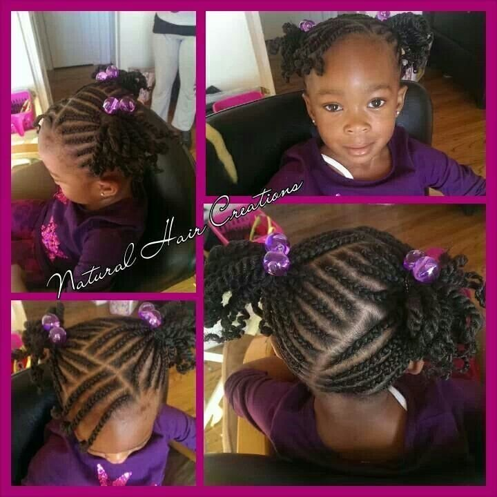 The Best 10 Best Images About Natural Kids Pig Ponytails On Pictures