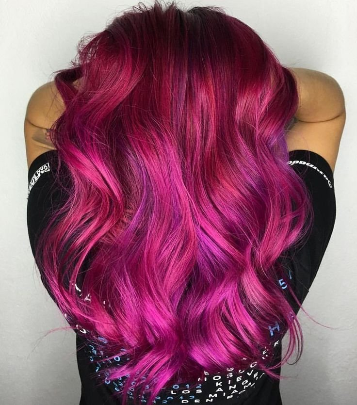 The Best 1000 Ideas About Magenta Hair On Pinterest Violet Hair Pictures