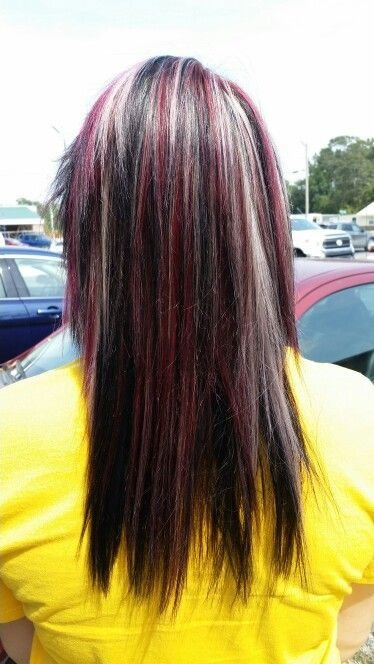 The Best 17 Best Ideas About Red Black Hair On Pinterest Black Pictures
