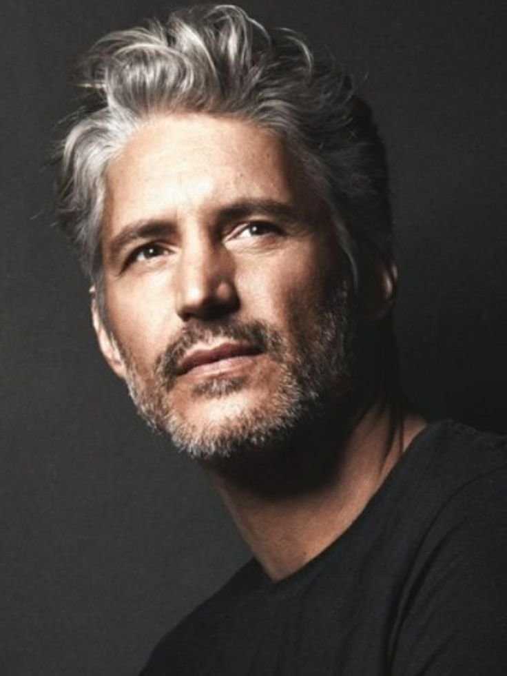 The Best 25 Best Ideas About Grey Hair Men On Pinterest Silver Hair Men Mens Barber Cuts And Bearded Pictures