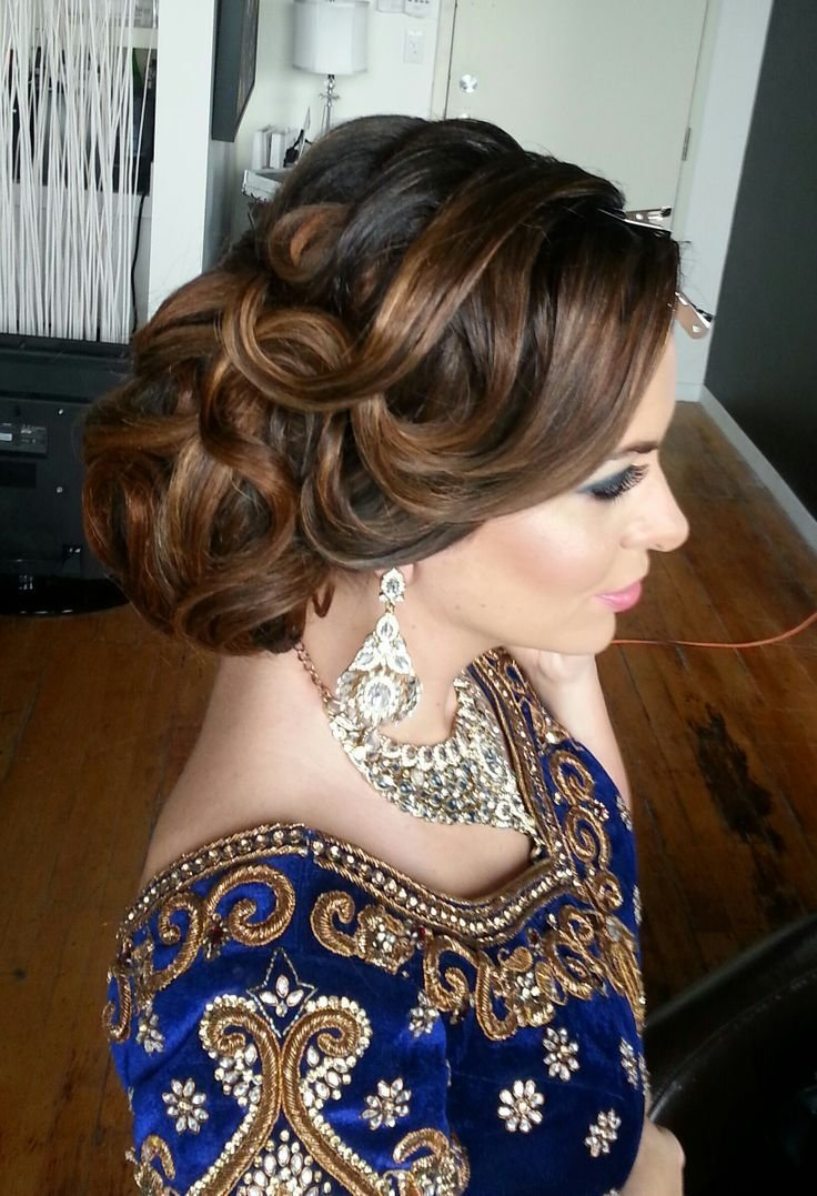 The Best 16 Glamorous Indian Wedding Hairstyles Updo Wedding And Pictures