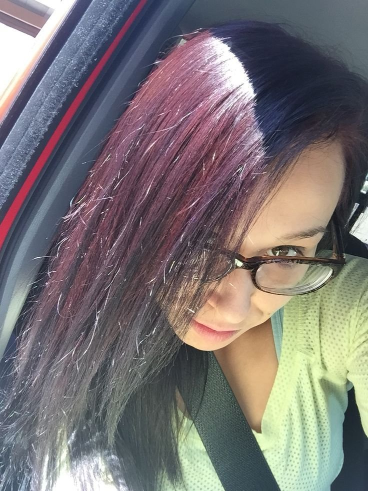 The Best Results Vidal Sassoon London Luxe In 3Vr Deep Velvet Violet No Filter Day After Color In Pictures