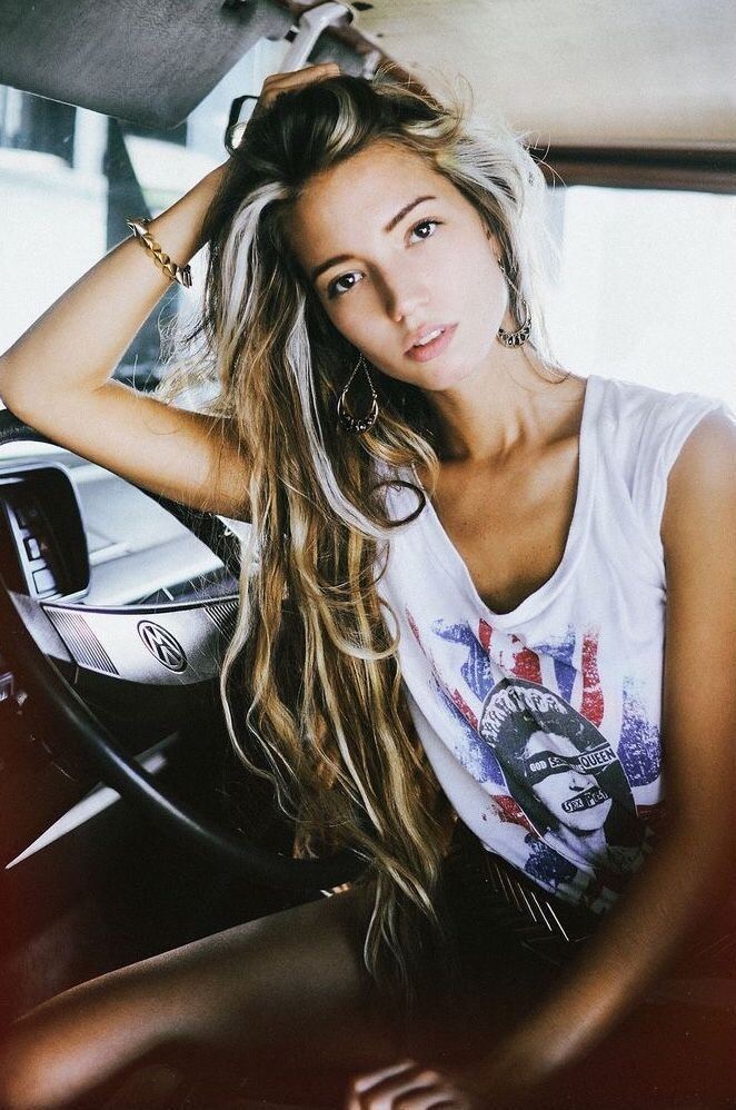 The Best Beach Hair Natural Waves Long Blonde Summer Pictures