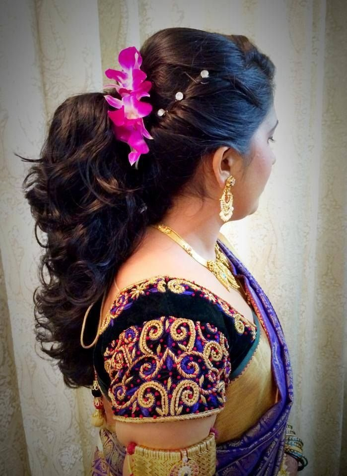 The Best Indian Bride S Bridal Reception Hairstyle By Swank Studio Pictures