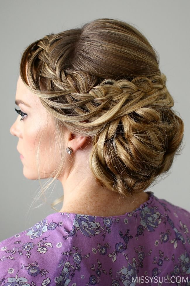 The Best Looped Braid Updo Hair Tutorials Pinterest Updo And Pictures