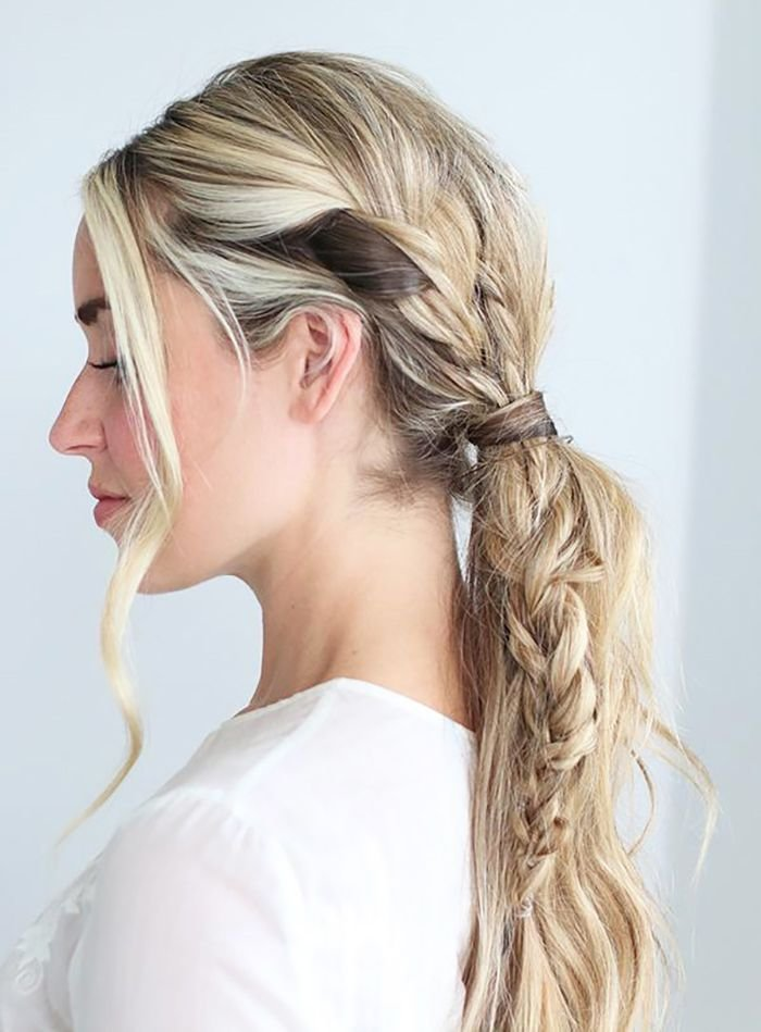 The Best 17 Best Ideas About Braid Ponytail On Pinterest Braided Pictures