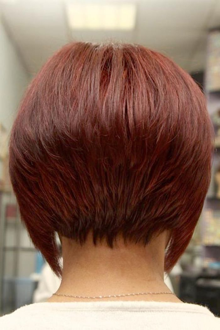 The Best The Treatment Of Short Bob Hairstyles Back View Short Pictures