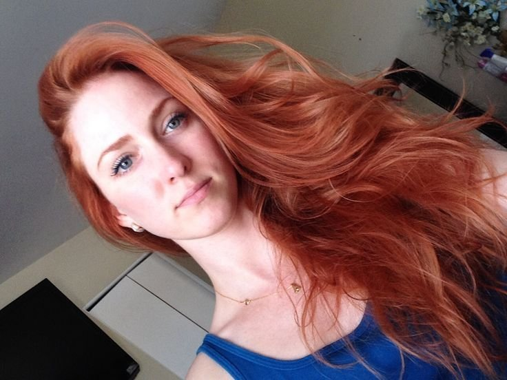 The Best Loreal Paris 7R Red Penny Hair Color Red Hair Pictures
