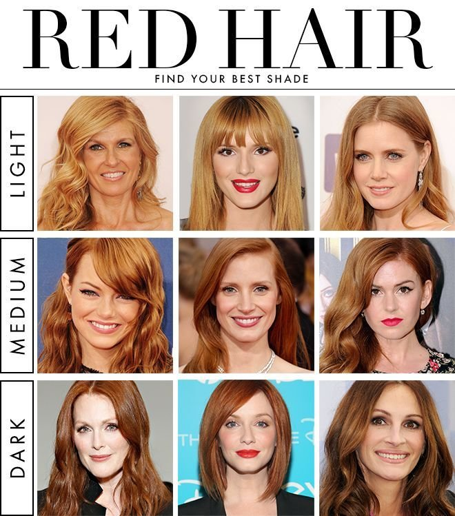 The Best How To Find Your Best Shade Of Red Hair Hair Shades Pictures