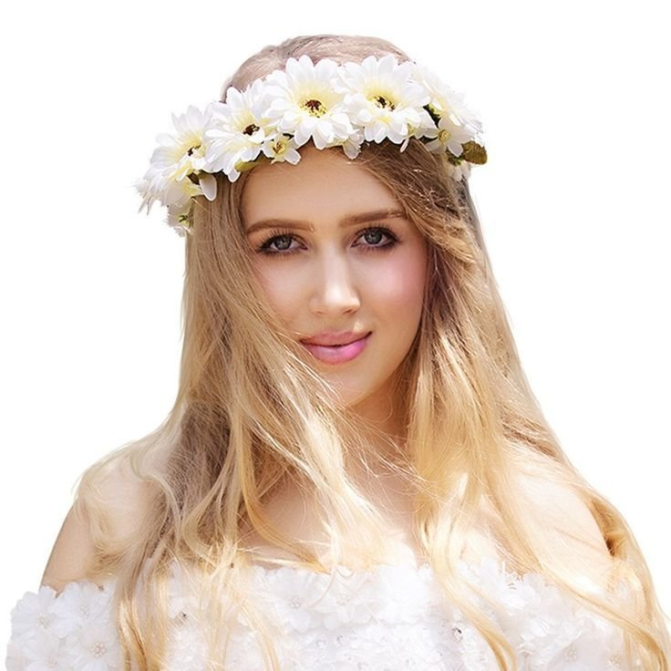The Best 1000 Ideas About Flower Headband Hairstyles On Pinterest Pictures