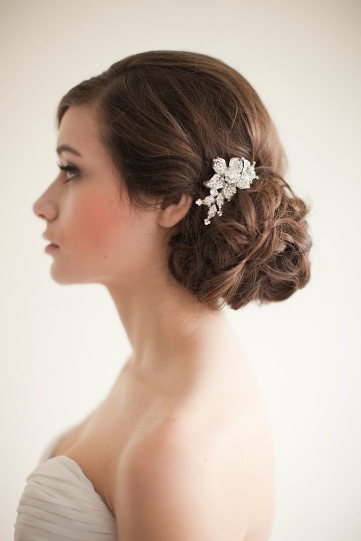 The Best 1000 Ideas About Bridal Chignon On Pinterest Chignon Updo Chignon Hairstyle And Chignons Pictures