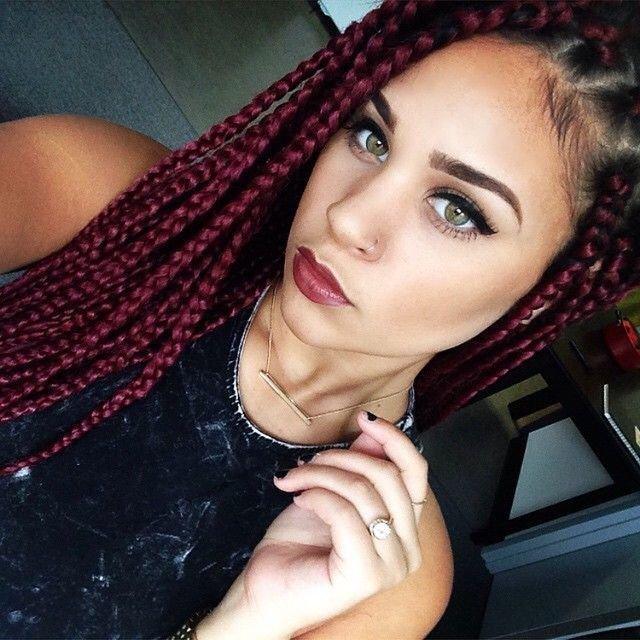 The Best 15 Women With Braid Extensions Styles Who Are Not Afraid Pictures