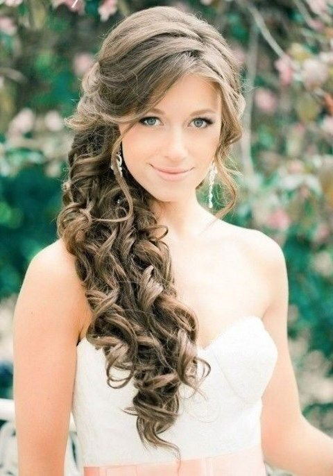 The Best Best 25 Bridesmaid Side Hairstyles Ideas On Pinterest Pictures