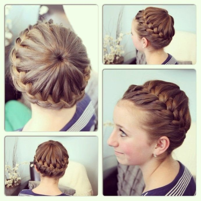 The Best Gymnastics Hairstyles For Long Hair For The Diva Pictures