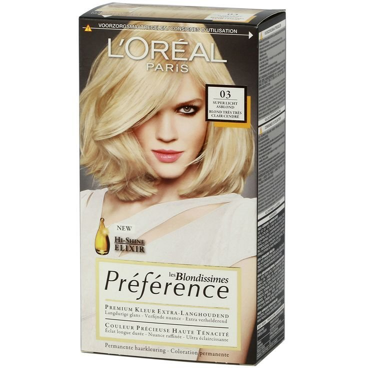 The Best Loreal Preference Blondissimes 03 Super Light Ash Blonde Pictures