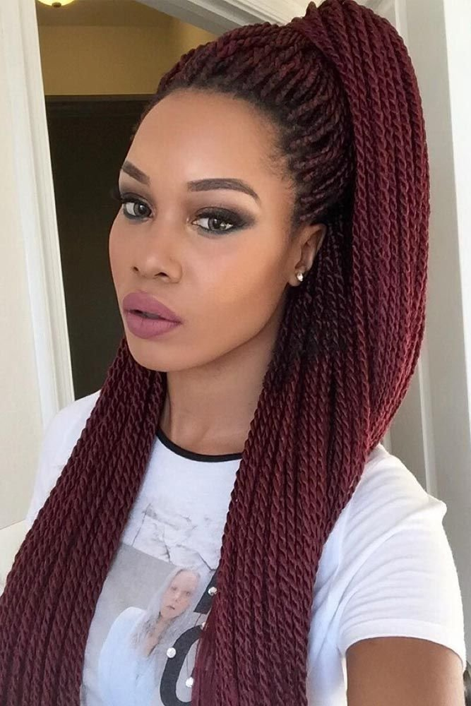 The Best Flat Twists Hairstyles For Black Women Pictures